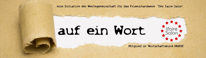 Der faire Salon: Auf ein Wort