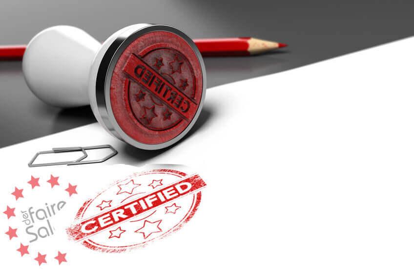 Der faire Salon: Die Zertifizierung